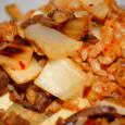 I was afflicted with an intense kimchi craving for the better part of a year. During those months, you would find me eating austere meals of kimchi and steamed brown […]